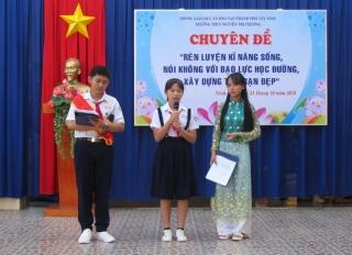 TP.Tây Ninh: Triển khai chuyên đề phòng chống bạo lực học đường