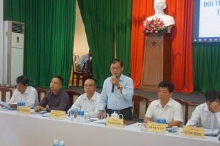 Hoà Thành: Đối thoại với tiểu thương chợ Long Hoa