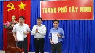 TP.Tây Ninh: Điều động, bổ nhiệm cán bộ lãnh đạo