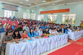 Công đoàn Khu kinh tế Tây Ninh họp mặt kỷ niệm 15 năm thành lập