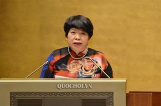 Quốc hội nghe báo cáo tiếp thu, giải trình và chỉnh lý dự thảo Bộ luật Lao động (sửa đổi)