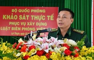Bộ Quốc phòng: Lấy ý kiến phục vụ việc xây dựng Luật Biên phòng Việt Nam