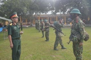 Kiểm tra toàn diện công tác phòng hoá tại Sư đoàn 5