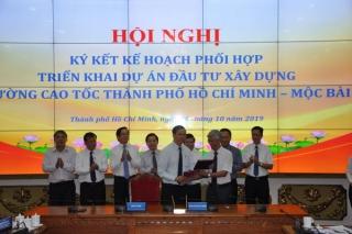 Ký kết triển khai Dự án đầu tư xây dựng đường cao tốc TP.Hồ Chí Minh - Mộc Bài