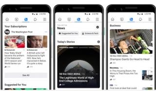 Facebook News được thử nghiệm tại Mỹ