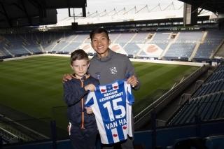 HLV SC Heerenveen tuyên bố không sử dụng Đoàn Văn Hậu trong năm 2019
