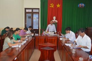 Hòa Thành: Giám sát thực hiện luật ban hành văn bản quy phạm pháp luật đối với UBND huyện