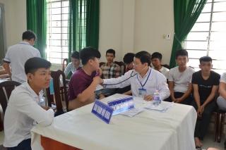 Tân Châu: Khám sức khoẻ nghĩa vụ quân sự năm 2020