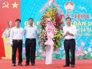 Liên xã Thạnh Tân- Tân Bình tổ chức Ngày hội đại đoàn kết
