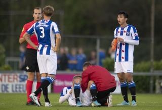 Đoàn Văn Hậu đá chính trong trận thua đậm của Jong Heerenveen