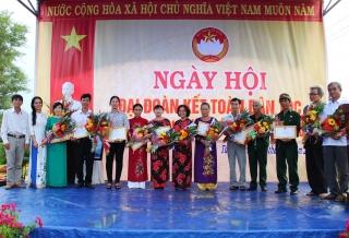 Ngày hội Đại đoàn kết toàn dân tộc tại xã Tân Hiệp