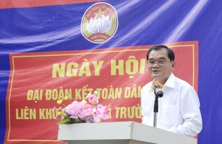 Ngày hội đại đoàn kết toàn dân tộc tại xã Trường Hòa