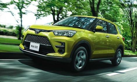 Toyota Raize - crossover mới giá từ 15.400 USD