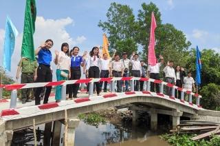 Khánh thành cầu kênh Bờ Hậu xã Phước Chỉ