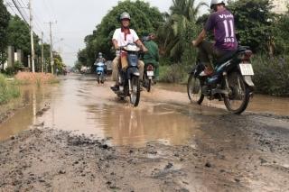 Dự kiến trong tháng 11 khởi công nâng cấp sửa chữa tuyến đường An Thạnh-Trà Cau