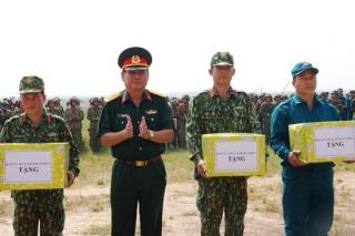 Trung đoàn 5: Diễn tập chiến thuật có bắn đạn thật năm 2019