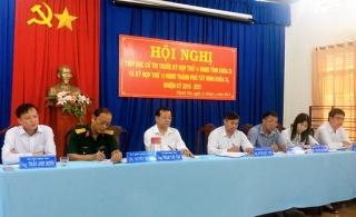 Chủ tịch UBND tỉnh Phạm Văn Tân tiếp xúc cử tri xã Thạnh Tân
