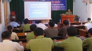 Tập huấn pháp luật về bảo vệ và phát triển rừng