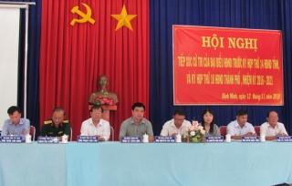 Đại biểu HĐND tỉnh, thành phố tiếp xúc cử tri TP.Tây Ninh