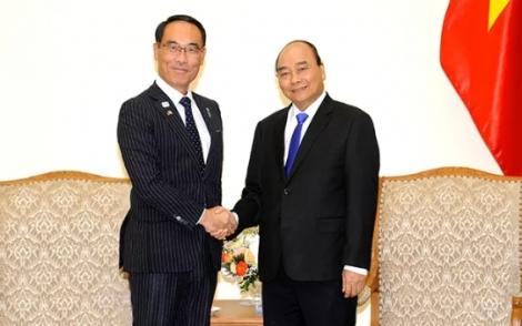 Thủ tướng Chính phủ tiếp Thống đốc tỉnh Xai-ta-ma (Nhật Bản); Chủ tịch Tập đoàn Tài chính Hana (Hàn Quốc)