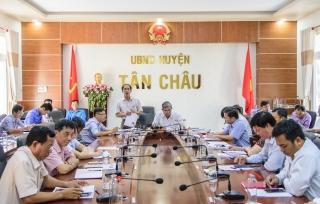 HĐND huyện Tân Châu: Tổ chức phiên giải trình về thực hiện BHYT toàn dân