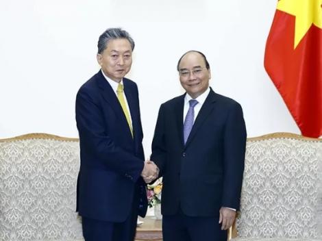 Thủ tướng Nguyễn Xuân Phúc tiếp Viện trưởng Viện nghiên cứu Đông Á (Nhật Bản)