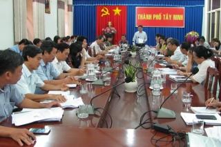 TP.Tây Ninh: Thu NSNN hơn 587 tỷ đồng