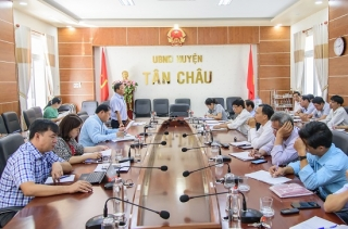 HĐND tỉnh: Giám sát tình hình thu hồi đất, chuyển mục đích sử dụng đất tại Tân Châu