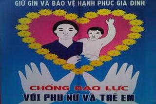 """Chủ đề """"Chấm dứt bạo lực đối với phụ nữ và trẻ em"""""""