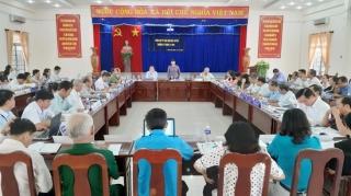 UBND huyện Bến Cầu họp phiên thường kỳ tháng 11.2019