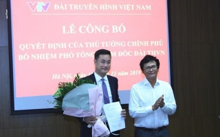 Ông Lê Ngọc Quang được bổ nhiệm làm Phó Tổng Giám đốc Đài Truyền hình Việt Nam