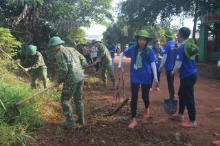 Sư đoàn 5: Ra quân làm công tác Dân vận đợt 2 năm 2019