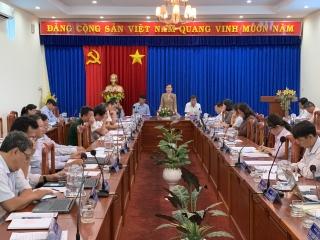 Châu Thành: Thông qua kế hoạch chuẩn bị Đại hội Đảng