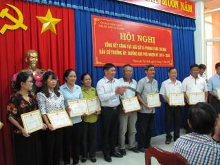 TP.Tây Ninh: Tổng kết công tác bầu cử trưởng ấp, khu phố