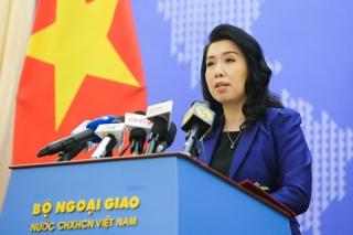 Bộ Ngoại giao nói về thông tin tàu HD9 Trung Quốc đi vào EEZ của Việt Nam