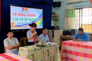 Khai giảng lớp Trống- kèn huyện Châu Thành