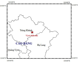 Cao Bằng lại tiếp tục động đất, Hà Nội có bị ảnh hưởng gì không?