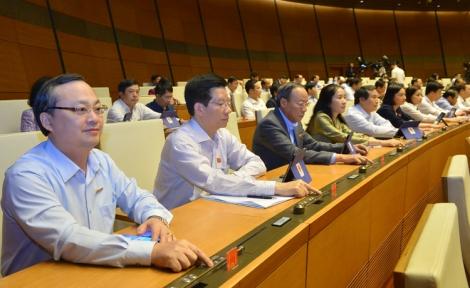 Quốc hội bầu Chủ nhiệm Uỷ ban Pháp luật