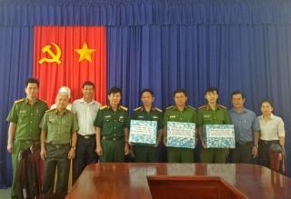 Lãnh đạo TP.Tây Ninh thăm lực lượng tham gia công tác dân vận tại phường Ninh Thạnh