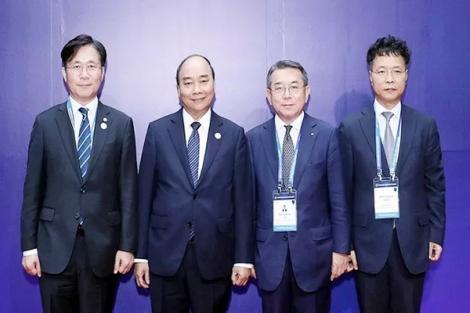 Thủ tướng Nguyễn Xuân Phúc dự Hội nghị cấp cao CEO ASEAN - Hàn Quốc
