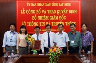 Ông Nguyễn Tấn Đức được bổ nhiệm Giám đốc Sở Thông tin và Truyền thông