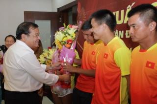 Họp mặt đoàn VĐV Tây Ninh tham dự SEA Games 30