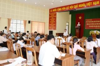Tân Biên: Mạnh dạn thi tuyển, đổi mới đánh giá cán bộ công chức