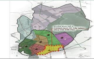"""TP.Tây Ninh: Công bố Đồ án quy hoạch phân khu 3 """"Khu dân cư văn hóa đặc trưng"""" tỷ lệ 1/2.000"""