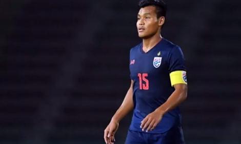 Trung vệ Thái Lan: 'Phải giữ phong độ đến trận gặp Singapore'