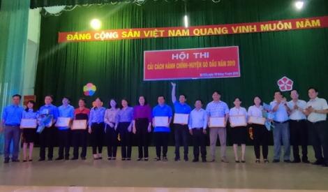 Gò Dầu: Tổ chức thi tìm hiểu về công tác cải cách hành chính