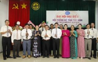 Ông Nguyễn Đình Bửu Quang tái đắc cử Chủ tịch Hội Thống kê Tây Ninh