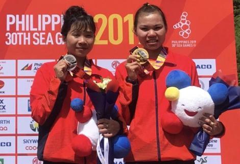 Việt Nam giành hai HC vàng trong ngày đầu SEA Games 30