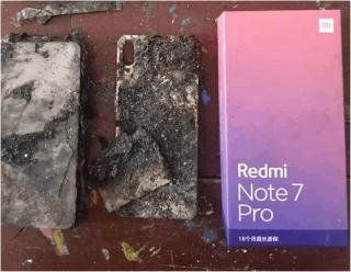 Smartphone Xiaomi phát nổ
