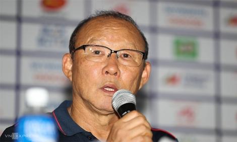 HLV Park: 'Các cầu thủ đã cho thấy tinh thần Việt Nam'